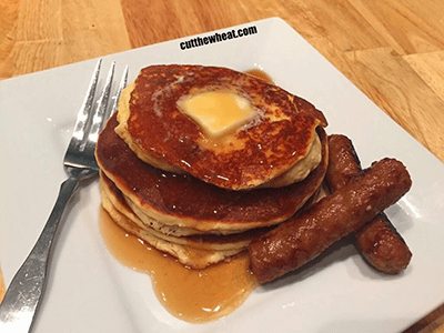 The Best Low Carb Pancakes (Gluten Free)
